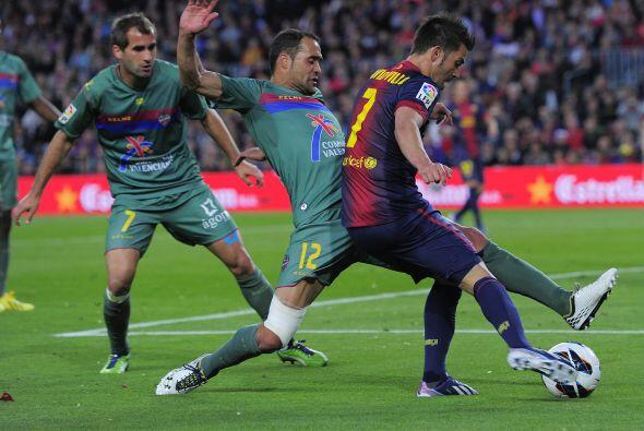 El asturiano estuvo con 'los pies cruzados'.