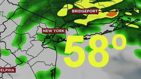 Cielo nublado y probabilidades de lluvias para este martes en Nueva York