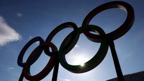 Aros olímpicos Río 2016.