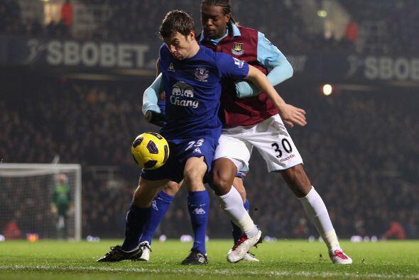 Finalmente, el West Ham recibió al Everton.