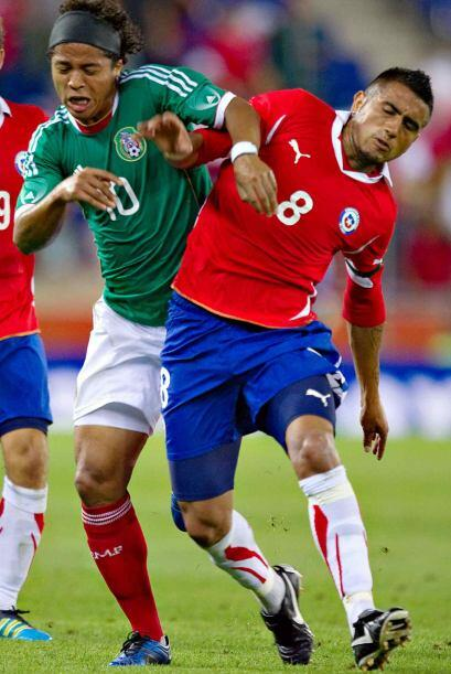 El partido México vs. Chile, le abre a las dos selecciones su pro...