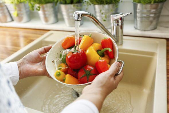 Antes de cocinar, encárgate de todos los preparativos posibles (cortar,...