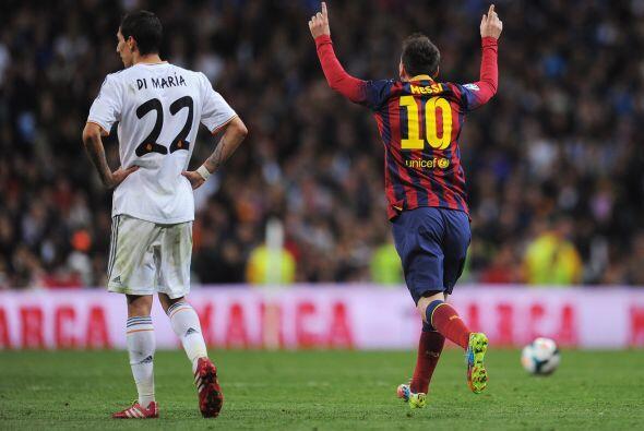 Y en su primera visita al Santiago Bernabéu, logró que el Barcelona venc...