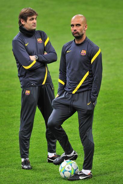 En aquella época ganaron la Copa del Rey, la Liga y la Liga de Campeones...