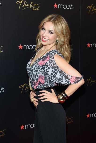 Thalía es una de las cantantes más populares en las redes....