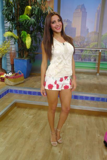 ¿Qué te pareció el outfit de esta guapa venezolana?