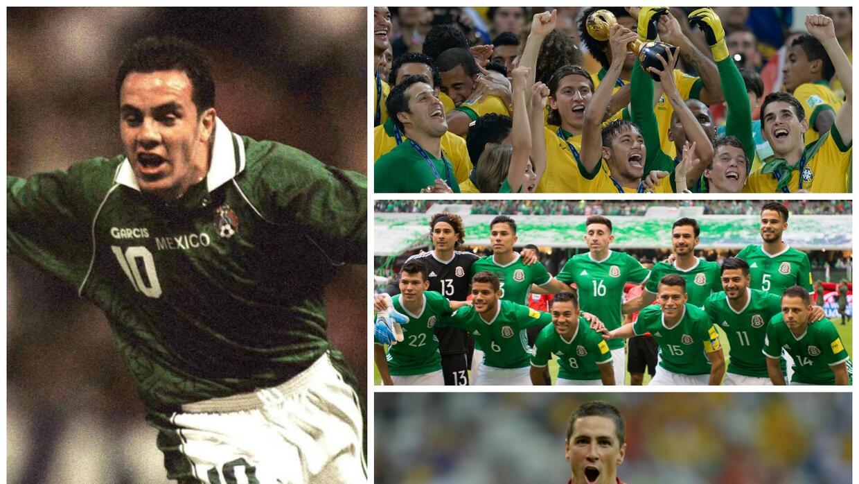 México y sus presentaciones en la Copa Confederaciones Confed.jpg