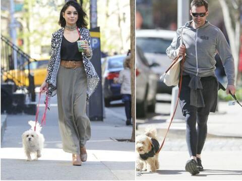 ¡A pasear en NYC! Vanessa Hudgens y Hugh Jackman dieron su paseo m...