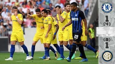 En Fotos: El Chelsea derrotó en penales al Inter y sumó su segunda victoria