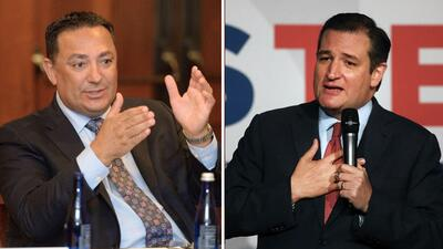 Arturo Acevedo, jefe de la policía de Houston, le pide al senador republ...