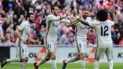 Real Madrid fortalece su liderato en España con triunfo contra Bilbao