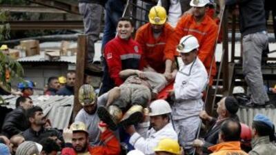 El accidente en una mina de la provincia turca de Manisa es uno de los m...