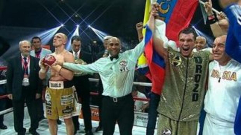 Grigory Drozd venció a Krysztof Wlodarczyk y le quitó el título crucero...
