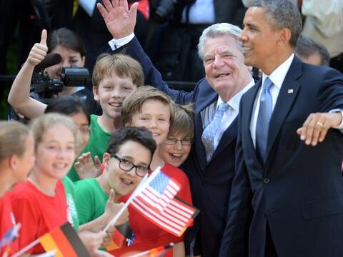 Obama ejerce fascinación sobre muchos alemanes y de ahí el...