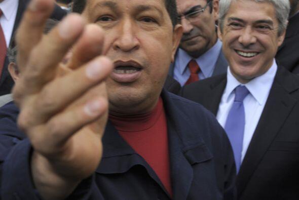 CARACAS - El presidente Hugo Chávez celebró el miér...