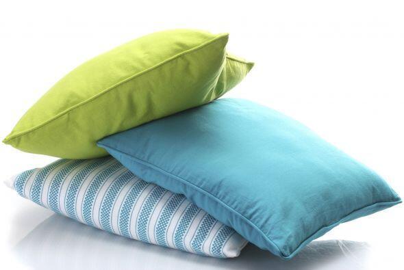 Cojines con cierres, un 'must'. Los almohadones son uno de los accesorio...