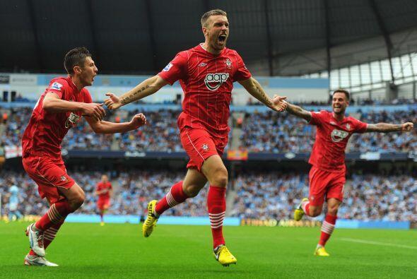Pero en la segunda parte de sio el despertar del Southampton, equipo rec...