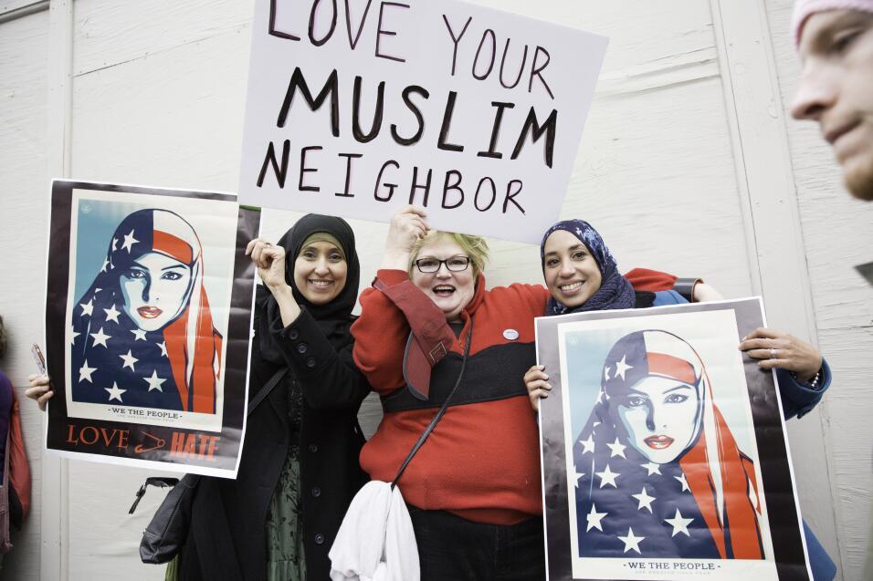 Marcha Mujeres musulmanes