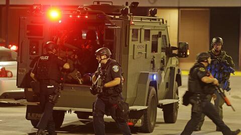 Despliegue de fuerzas de seguridad en Milwaukee