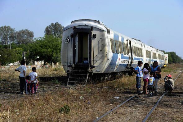 El tren de la Fundación Alma fue remodelado en 2004 y está equipado con...