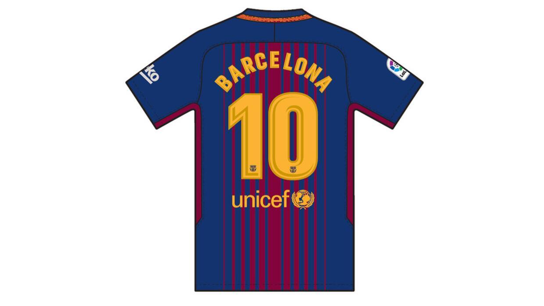 """La playera blaugrana lucirá """"Barcelona"""" en lugar del nombre de..."""