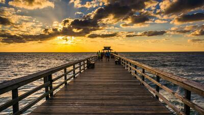 Playa en Naples, Florida.