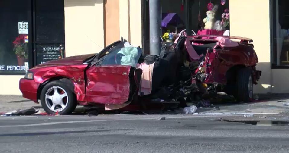 Accidente mortal en Pasadena