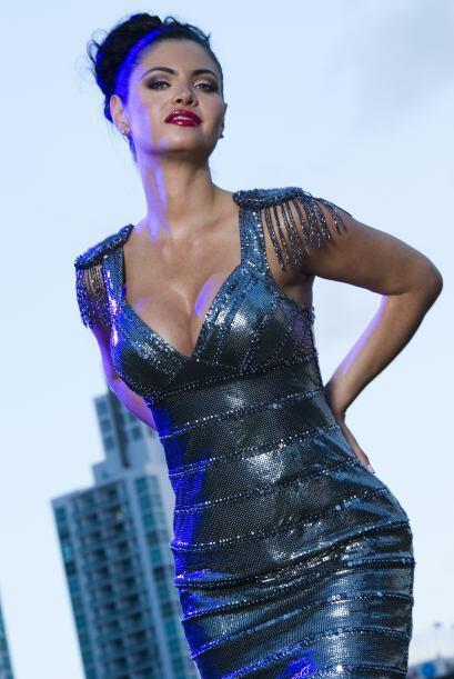 "En 1990 se coronó como primera finalista de ""Miss Venezuela"", a la par c..."