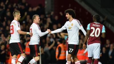 Manchester United avanzó a semis de la FA Cup