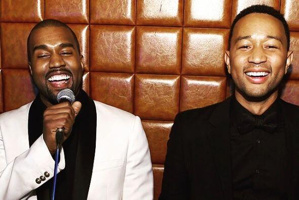 """Él y Kanye son muy buenos amigos. """"Happy YeDay"""" deseó el músico al rapero."""