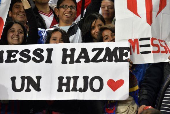 Y no solo hay cariño entre ellos, los peruanos demostraron su amo...