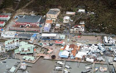 Esta imagen da una idea de los incalculable daños que caus&oacute...