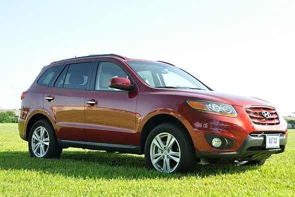 La Santa Fe Limited es la SUV de Huyndai que mejor relación precio produ...