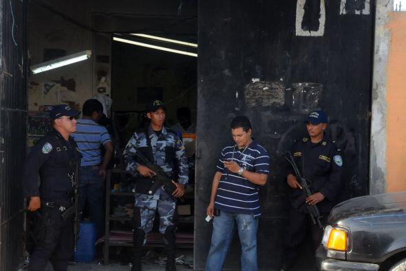 El Ejército de Honduras salió a las calles a reforzar a la...