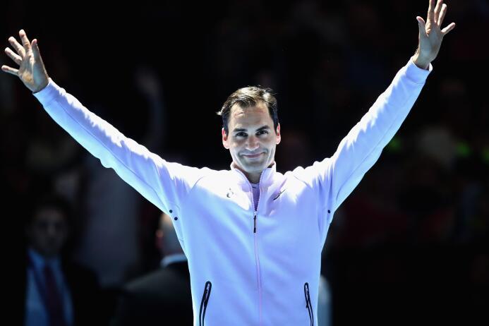 Grupo Boris Becker: Roger Federer (Suiza)