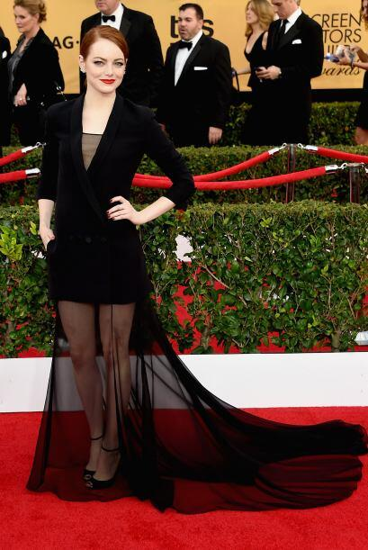 Emma Stone, impecable.
