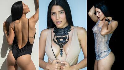 Endrina Chiquinquirá, una sensual amante del fitness y seguidora de la 'Vinotinto'