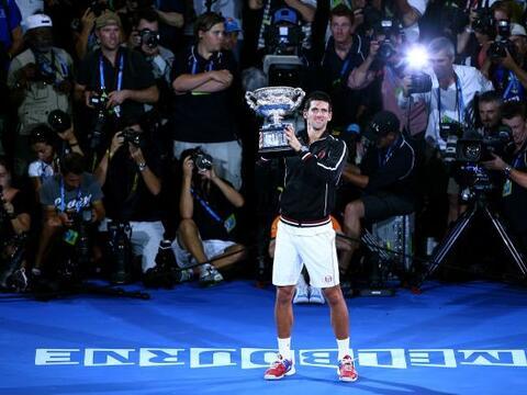 El serbio Novak Djokovic, número uno, se impuso al español...