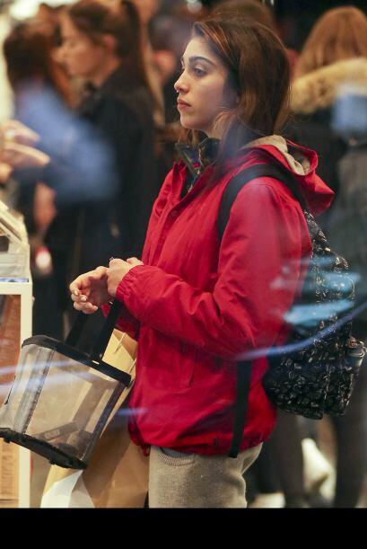 La dulce Lola estuvo de shopping como cualquier otro turista en Nueva York.
