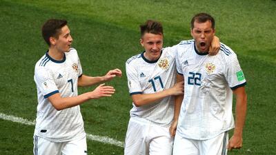 En fotos: Rusia, a cuartos de final tras eliminar a España en penales en Rusia 2018