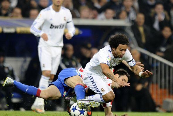 A continuación, se vio un Madrid totalmente echado al frente.
