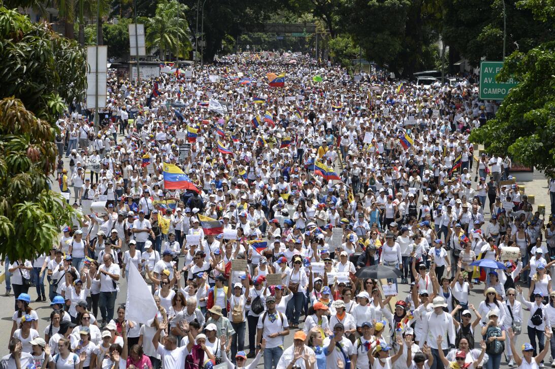 protesta mujeres venezuela