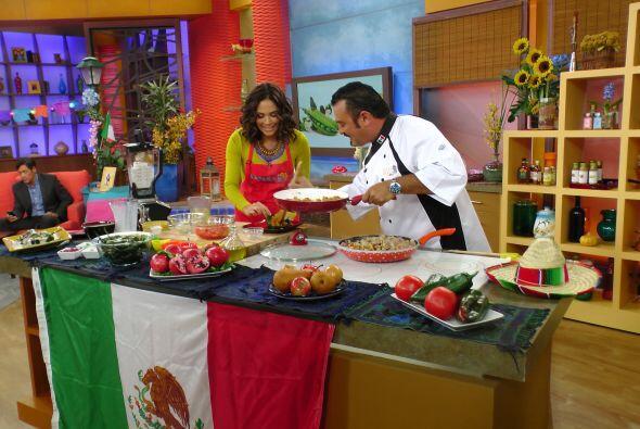 En la cocina de Despierta nos esperaba una receta con mucho sabor a México.