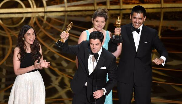 """Los chilenos ganadores del Óscar de mejor corto animado por """"Bear Story"""""""