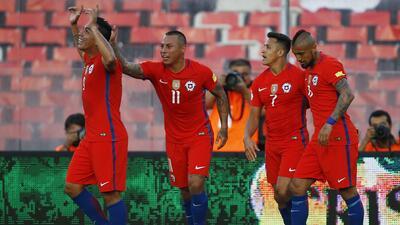 Chile hundió a Venezuela y se mete en grupo de clasificados en Conmebol