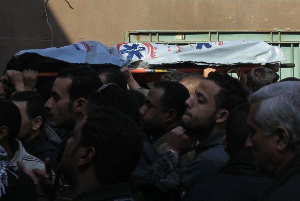 Según testigos presentes en el encuentro, los hinchas de Al Masri...