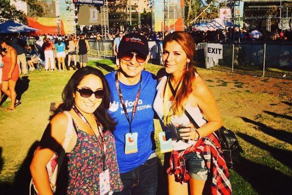 Junto a Liz Alvarado y Donaji en nuestro festival de Uforia.