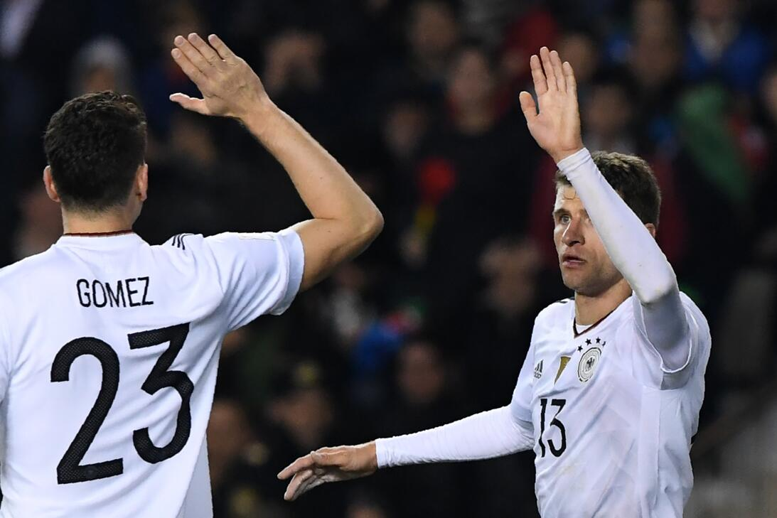 Alemania goleó y se mantiene con puntaje perfecto en el grupo C de la el...