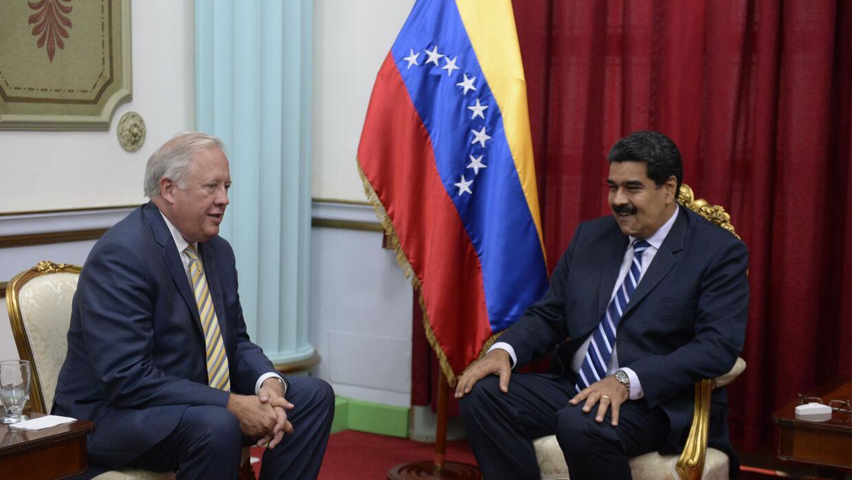 Shannon ya había visitado a Maduro en Miraflores el 22 de junio de 2016.