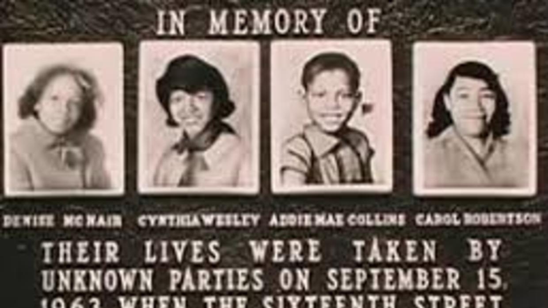 Las cuatro niñas fallecidas en el atentado de 1963 en la Iglesia Bautist...